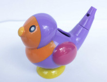 1pc 2-in-1 whistle Plastic baby bath collection bath toy bird water whistles hot selling gift Send At Randomly(China)