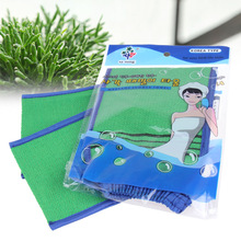Korea Tape Back Brush Scrub Gloves Exfoliating Body Towel Massage Shower Scrubber Exfoliating Sponge Wash  Bath Gloves