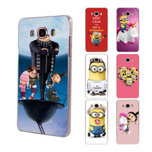 King Bob minions Rainbow Unicorn hard clear phone Case for Samsung Galaxy J5(2017) J7(2017) J510 J710 J2 Prime J3 2016 J1