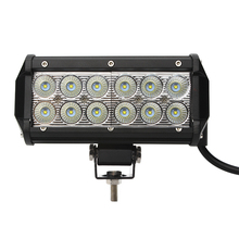 iTimo Waterproof  36W Led Work Light 12V 24V Offroad  LED  Spot Flood Lamp 2520Lm 2016 Hot  SUV ATV Car Truck Tractor 7 inch