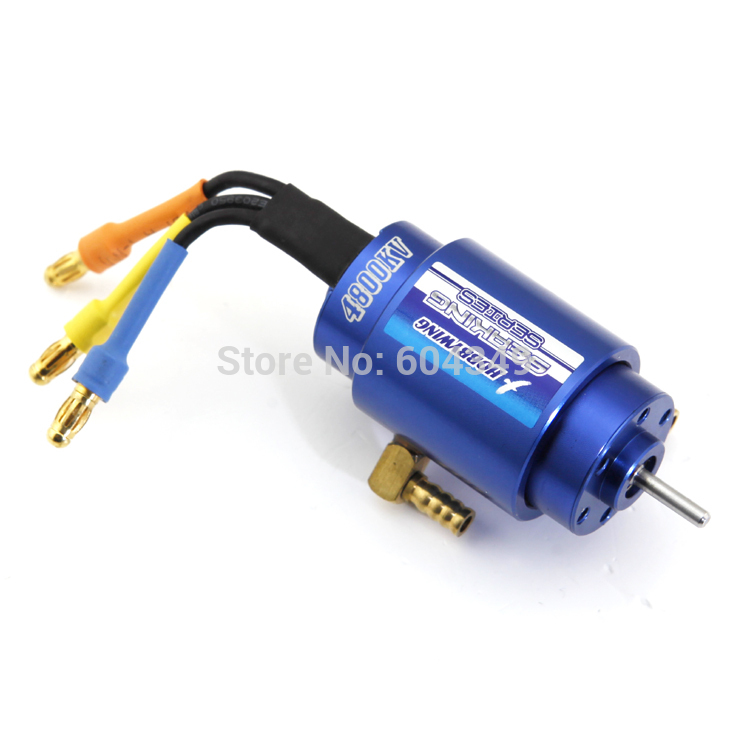 HOBBYWING SEAKING 4800KV Brushless Motor W/Water-cooling for RC Boat 2040SL<br><br>Aliexpress