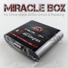 Original miracle box with key for china mobile phone unlock repairing box contain 2 cables software miracle team adapters(China)