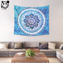 PEIYUAN Bohemian Colorful India Mandala Tapestry Wholesale Wall Hanging Table Cloth Tapestry Beach Towel Home Decorative(China)