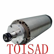 0.8KW ER11 P4 4bearings air-cooled spindle motor/800W air-cooled spindle motor