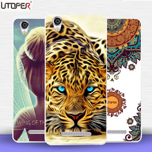 "Flower lion tiger cat Elk Russia cases For Blackview A8 5.0""case transparent Silicone Soft Plastic TPU telePhone Fundas Bags(China)"