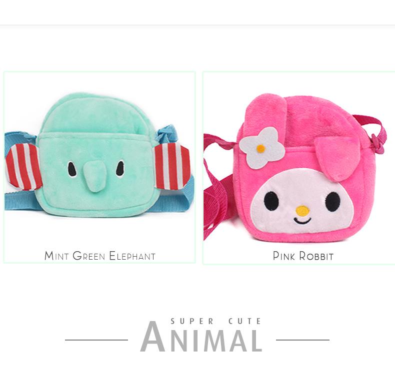 Cute Kids Messenger Bag Little Boys Girls Sling Bag Christmas Gift Satchel (7)