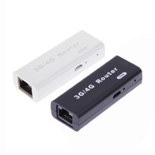 Mini 3G/4G WiFi Wlan Hotspot AP Client 150Mbps RJ45 USB Wireless Router for WAN/LAN(China)