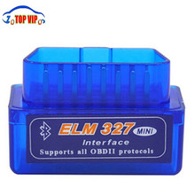 V1.5 Works On Android Phone And PC Super Mini ELM 327 Bluetooth OBD IIOBD2 Auto Diagnostic Tools ELM327 Code Reader & Scan Tools