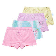 Buy 1PCS Cotton Girls Panties Baby Girl Underwear Shorts Briefs Children Underwear Child Cartoon Shorts Children Underpants