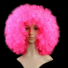 1 Pc Cool Colorful Dress Up Hair Wave Blast Head Wig Christmas Halloween Party Dance Cosplay Game Decoration for Adult Kids(China)