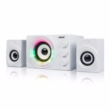 SADA Computer Speaker Colorful Breathing Light Mini USB Speaker For Desktop PC Cell Phone MP3(China)