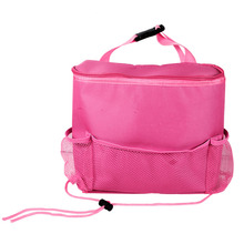 3 Colors Baby Stroller Bag Multi-Functional Car Back Seat Baby Stuff Bag Stroller Organizer Holder Accessory Insulation Pouch