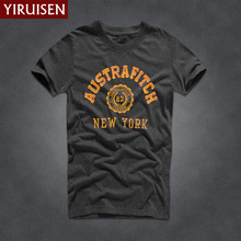 Buy Mens T Shirts Fashion 2017 YiRuiSen Brand Men Short Sleeve T Shirt Men Casual 100% Cotton Tshirt Tops Camisetas Hombre Camisa for $7.99 in AliExpress store