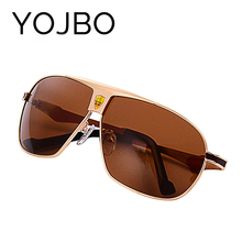 YOJBO Men Polarized Driving Sunglasses 2017 new brand Summer style Designer Male Sun Glasses UV400 Protections Eyewear(China)