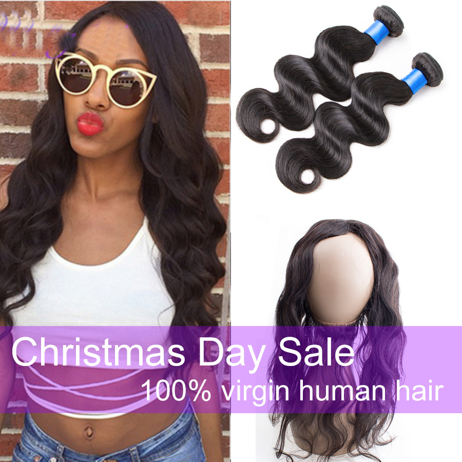 Cheap 360 Lace Frontal Closure With Hair Bundles Peruvian Body Wave With Frontal Free Part 360 Lace Frontal With Bundle<br><br>Aliexpress