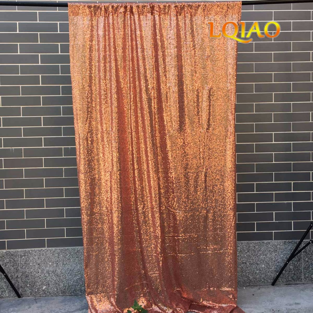 Rose Gold sequin backdrop-002