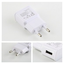 EU Plug Travel Universal 2A Wall Charger USB Cable For Samsung Galaxy S4 I9500 i9505 S3 I9300 Note 3 N7100