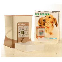 Batteries Operated Clock Dry Portion Control Automatic Pet Feeder Timer Dog Food Dispenser