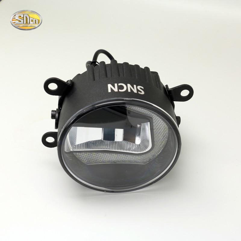 SNCN Led fog lamp for Mitsubishi ASX RVR 2013 2014 2015 daytime running lights DRL Driving lamp<br>