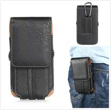 "5.5"" High Quality pu Leather TMobile Phone Waist Bag For Elephone Trunk"