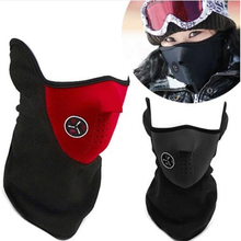 Outdoor Cycling mask windproof Cool ride bike mask winter Warm Dust Proof anti fog half face CS mask motorcycle ski sport mask(China)