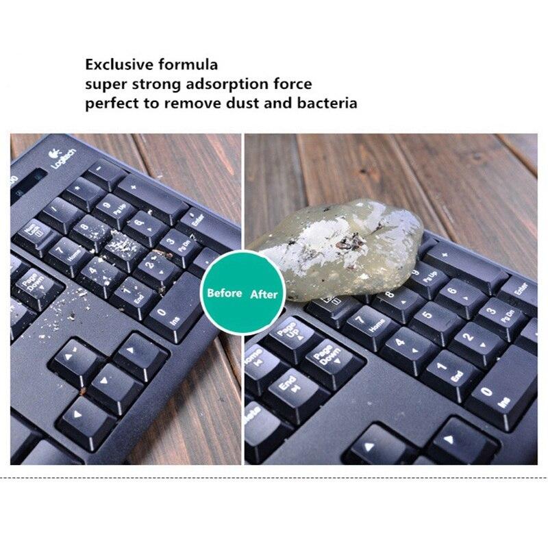 Kleepuv puhastusvahend klaviatuuri puhastamiseks