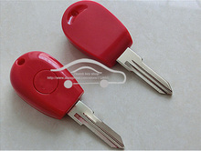 New Replacement Transponder Key Shell for Alfa Romeo 145 146 155 GTV Spider Uncut Case Fob Red Color