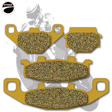 Motorcycle Brake Pads Front+Rear For KAWASAKI  ZR 250 91-95 ZZR 250 90-01 EX 500 94-09 GPz 500 94-01