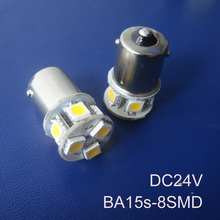 High quality 24V 1156 P21W R5W BA15s Truck led bulb BAU15s 1141 24v Freight car Led Side Turn Signals free shipping 20pcs/lot