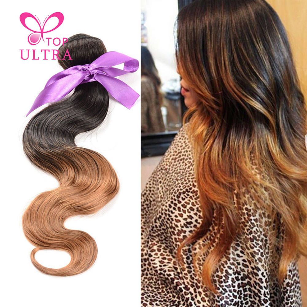 Hot Queen Raw Indian Wet And Wavy Human Hair 1Piece Ombre Weave Body Wave Indian Virgin Hair Bundles Grace Hair Free Shipping<br><br>Aliexpress