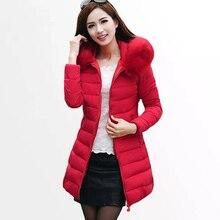 Women's Winter Jacket 2018 New Womens Winter Jackets Coats Female Padded Parkas Fashion Thick Warm Hooded Cotton Coat