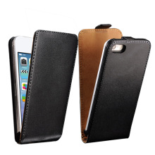 Flip PU Leather Case For iPhone 4 / 4S S Luxury Cover Hard Coque With Magnetic Buckle For Apple iPhone4 i Phone Black Capinha