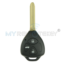 Remtekey remote key TOY43 3 button 433 mhz for Toyota key Camry car key 2006 2007 2008 2009 2010(China)