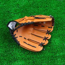 "Baseball Training Practice Gloves Left Hand Artificial Leather 10.5""/11.5""/12.5"" Unisex Pitcher Softball Baseball Glove"