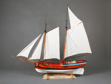 U.S. Navy Classic wooden ship model kit Scale 1/20 Hannah 1775 sailboat wooden model(China)