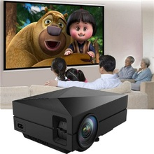 Coolux GM60 LCD LED Projector 1000Lm 800 x 480 Pixels Supports 1080P HD Projection for Home Theater Cinema(China)