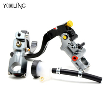 Motorcycle Cable Clutch Hydraulic brake clutch pump master cylinder handle for Ducati Honda Kawasaki Suzuki Yamaha KTM BMW
