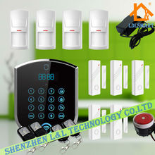 Network 3G 2G GSM PSTN Landline Advanced Home Burglar Alarm Systems System Security(China)