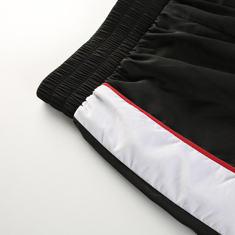 11Sweetown Woman Pencil Pants Casual Loose Pantalon Femme Spliced Panelled Joggers Women Woven Elastic High Waist Ladies Trousers