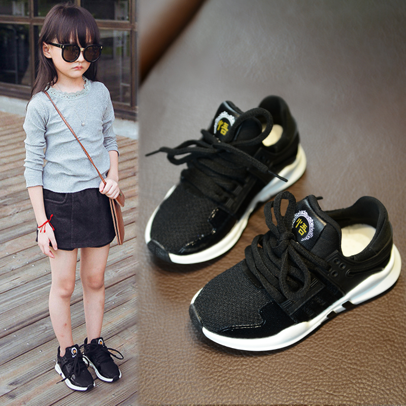 Spring Catamite Childrens Shoes Girl Children Spring 2017 New Pattern Korean Shoes Joker Ventilation Casual Shoes Sneakers<br>
