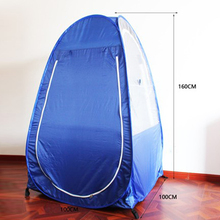 1 pc  Tent Outdoor Single Pop-up Tent Pod For Fishing Watching Sports Camping Blue Clear(China)