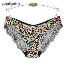 S-XXL 5 Size Women Sexy Underwear Transparent Hollow Women's Lace Panties Seamless Panty Briefs Intimates-981