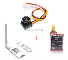 Mini 5.8G FPV Receiver UVC Video Downlink OTG VR Android Phone & 600TVL 1/4 1.8m CMOS Camera & TS5828 600mW Transmitter Module