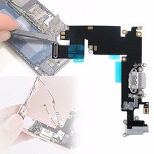 Charging Charger Port Dock Connector Jack Microphone Module Flex Cable Repair Part Replacement For iPhone 6 plus