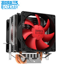 PCCOOLER original mini CPU cooler fan pure cooper heatpipe silent cooling radiator fan for LGA1151 775 115x FM2+ FM2 FM1 AM3