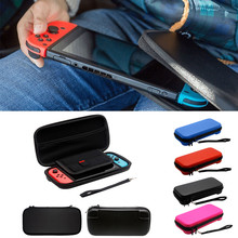 DATA NEW ! Plain Black EVA Tough Case Pouch Travel Carry Bag for Nintendo Switch Console top quality Drop shipping mar10