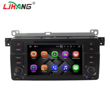 LJHANG Android 7.1 Car DVD for Player BMW E46 3 Series 1998-2001 2GB RAM 32G ROM 3G wifi GPS Navigation Multimedia Bluetooth map(China)