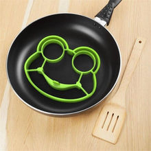 Silicone Frog Egg Fried Mould Molds Shaper Poucher Pancake Ring Kitchen Tool Free Shipping