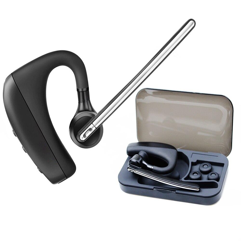 WOFANG  K10B  Bluetooth Headset Handsfree Wireless Car Earphone Noise Canceling HD Microphone Headphone gift Carrying box<br>