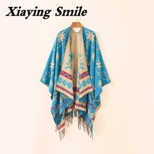 XiaYing Smile Fashion Stole Great Cloak Pashmina Woman's Pareo Scarf Spring Autumn Scarf Shawl Summer Sunscreen Scarves Pashmina